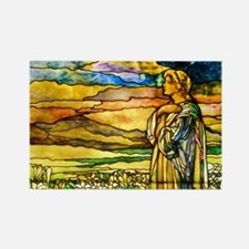 Field of Lilies by Tiffany Studios Magnets