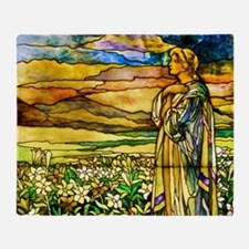 Cute Tiffany glass Throw Blanket