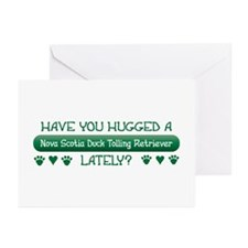 Hugged Toller Greeting Cards (Pk of 10)