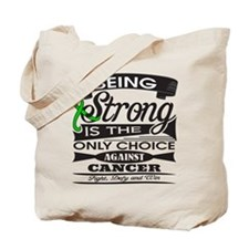 Adrenal Cancer Strong Tote Bag