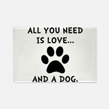 Need Love Dog Magnets