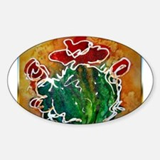 Cactus, southwest art Decal