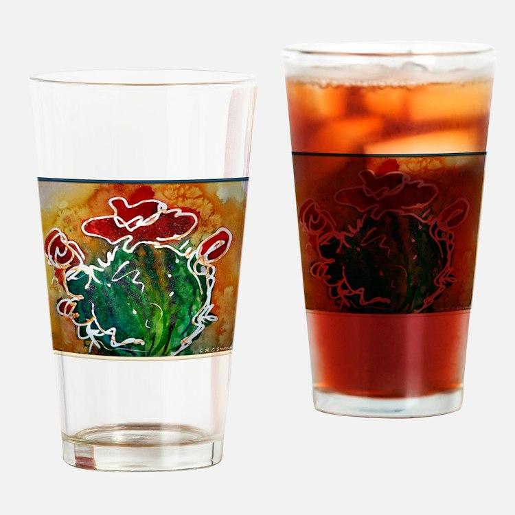 Cactus, southwest art Drinking Glass