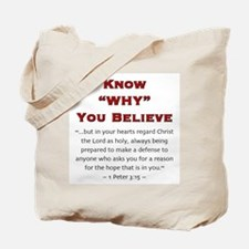 Know Why 2.0 - Tote Bag