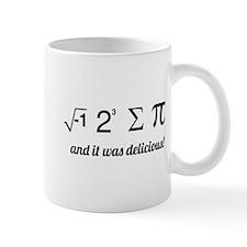 I ate some pie math Mugs