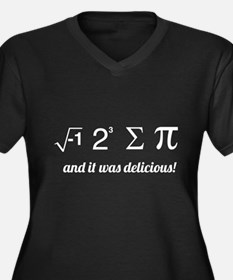 I ate some pie math Plus Size T-Shirt