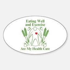 My Health Care Decal