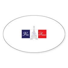 Vive la France! Decal