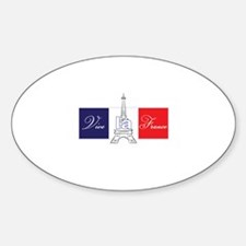 Vive la France! Decal
