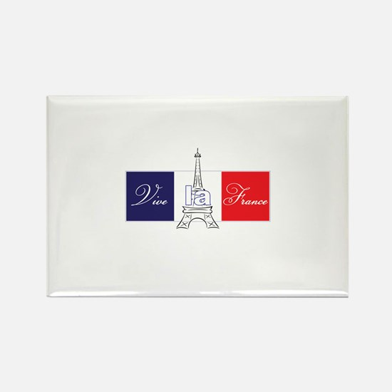 Vive la France! Rectangle Magnet