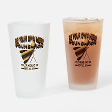 BeYourOwnHero ColorMeRad 5k Drinking Glass