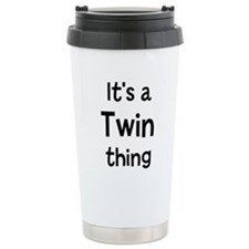 Unique Is it twins Travel Mug