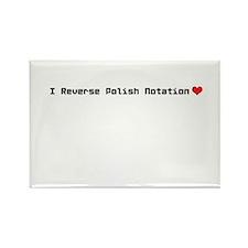 I reverse polish notation love Magnets