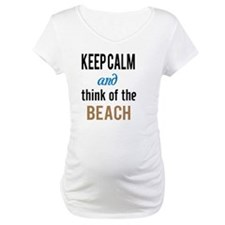 Keep Calm and Think of the Beach Shirt