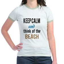 Keep Calm and Think of the Beach T-Shirt