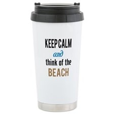 Cute Typographic Travel Mug