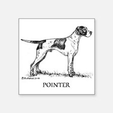 "Pointer Square Sticker 3"" x 3"""