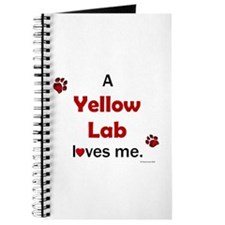 Yellow Lab Loves Me Journal