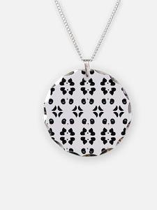 Panda Bears Pattern Necklace