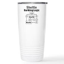 Sheltie Logic Travel Mug