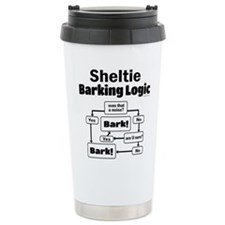 Sheltie Logic Travel Coffee Mug