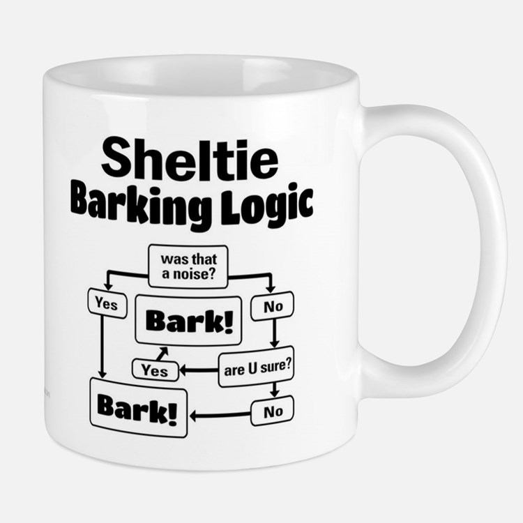 Sheltie Logic Mug