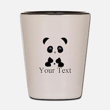 Personalizable Panda Bear Shot Glass