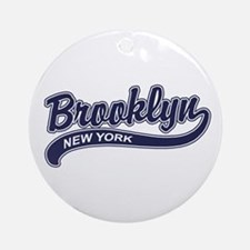 Brooklyn Ornament (Round)