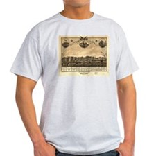 Battle Creek MI-1869. Manufac T-Shirt