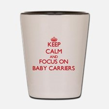 Unique Baby carrier Shot Glass