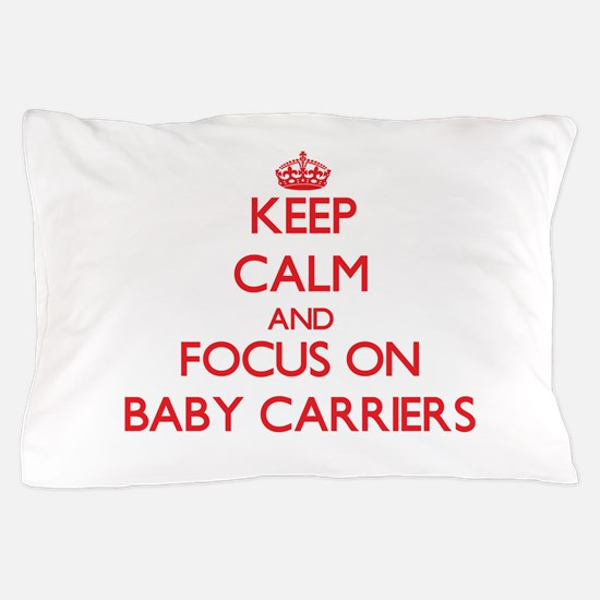 Cute Baby carrier Pillow Case