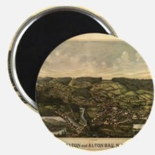 Alton Bay, NH 1888. Antique m Magnet