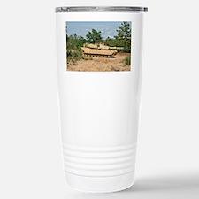 Abrams Main Battle Tank Stainless Steel Travel Mug