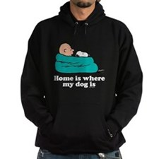 Charlie Brown: Home is Where My Dog Hoodie