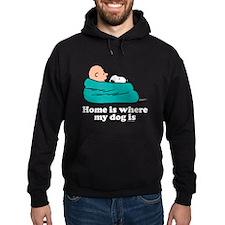 Charlie Brown: Home is Where My Dog Hoody