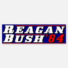 Reagan Bush '84 classic 3D Bumper Bumper Bumper Sticker