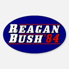 Reagan Bush '84 classic 3D Decal