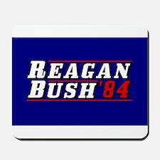 Reagan Bush '84 classic 3D Mousepad