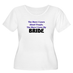 more I learn about people, more I love my BRIDE Wo