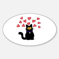 Love Cat Decal