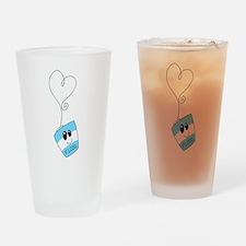 Love Floss Drinking Glass