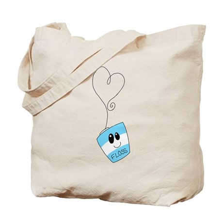 CafePress Love Floss Tote Bag