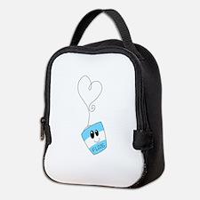 Love Floss Neoprene Lunch Bag