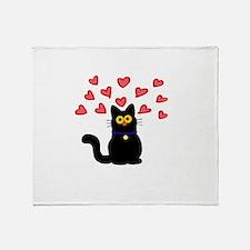 Cute Soft kitty warm kitty Throw Blanket