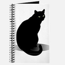 Cute Halloween cat Journal