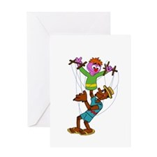 Puppet Pals Greeting Cards