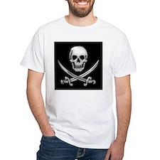Glassy Skull and Cross Swords Shirt