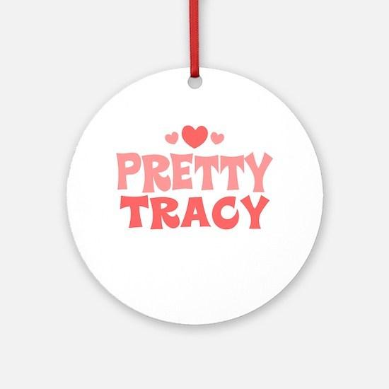 Tracy Ornament (Round)