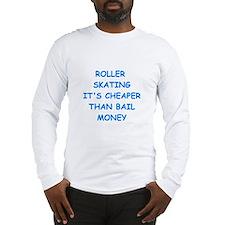 roller skating Long Sleeve T-Shirt