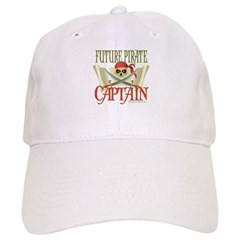 Future Pirate Baseball Captain Baseball Cap